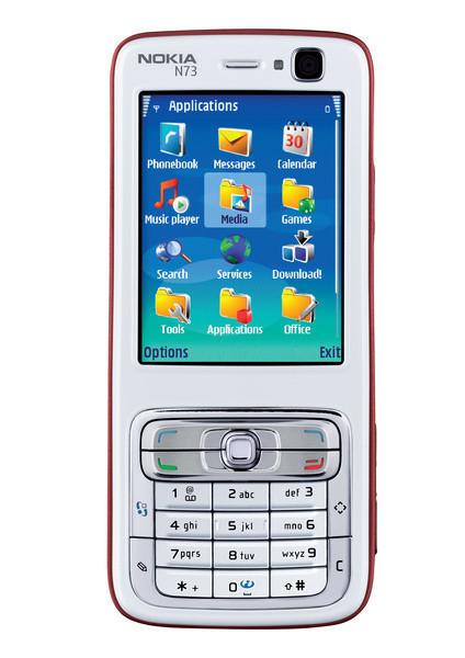Okia N73, являясь развитием N70 - одной из самых оригинальных моделей N-сер